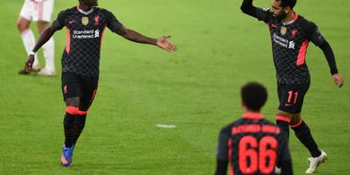 Sempat Dibikin Deg-degan, Liverpool Konfirmasi Sadio Mane Tak Cedera