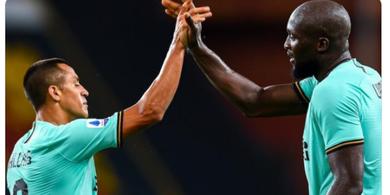 Susunan Pemain Inter Milan vs Moenchengladbach - Lautaro Dicadangkan, Conte Duetkan Lukaku-Sanchez