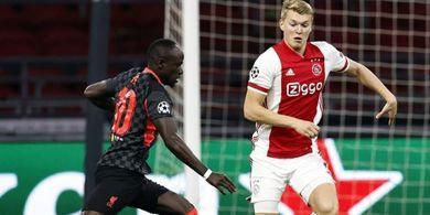 Ajax Vs Liverpool - Sadio Mane Buat Pemain Tuan Rumah Apes Pertama Kali Sejak 2010