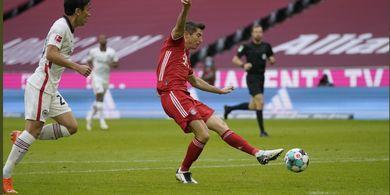 Hasil Bundesliga - Gol Ke-10 dan Hat-trick Ke-11 Lewandowski, Bayern Menang 5-0