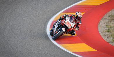 Hasil Kualifikasi MotoGP Teruel 2020 - Takaaki Nakagami Rebut Pole Position