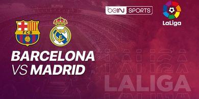 Link Streaming Barcelona Vs Real Madrid, Era Baru El Clasico
