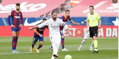 Sekali Comeback, Sergio Ramos Langsung Ikuti Jejak Cristiano Ronaldo