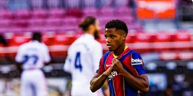 Barcelona Kalah, Ansu Fati Justru Rebut Rekor Pemain Real Madrid