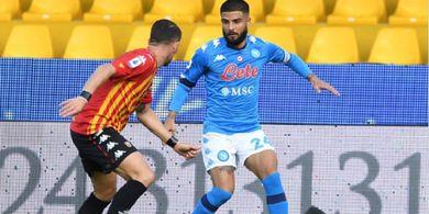Hasil Liga Italia - Insigne Bersaudara Kompak Nyekor, Sang Kakak Bawa Napoli Perpanjang Rekor Kejam
