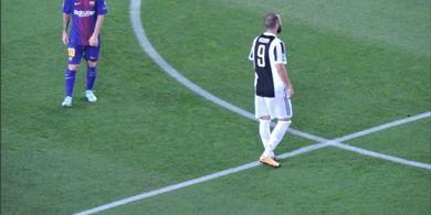 VIDEO - Dua Gol Langka Messi vs Juventus, Bikin Buffon Bengong