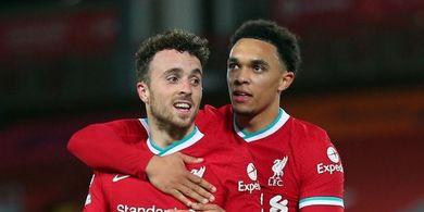 Hasil Liga Champions - Akhiri Puasa Gol 4 Tahun, Anak Rumahan Liverpool Amankan 3 Poin