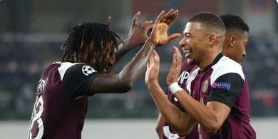 Hasil Liga Champions - Kylian Mbappe Sah Raja Assist, PSG Samai Man United