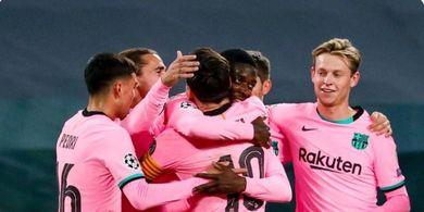 Hasil Liga Champions - Lionel Messi Buntuti Rekor Cristiano Ronaldo, Barcelona Tekuk Juventus