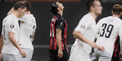 Hasil Lengkap Liga Europa - Zlatan Ibrahimovic Perpanjang Rekor Buruk, Jose Mourinho Coreng Muka Inggris