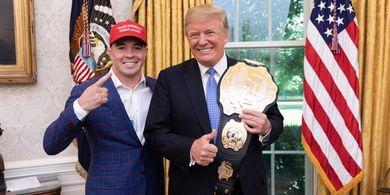Bos UFC Pastikan Colby Covington Bakal Hadapi Pemenang UFC 261