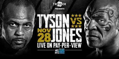 Hasil Mike Tyson vs Roy Jones Jr - Si Leher Beton Jinak, Jadi Anak Manis Tidak KO Lawan