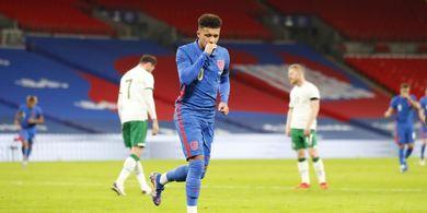 EURO 2020 - Alasan Southgate Pilih Bukayo Saka sebagai Starter ketimbang Jadon Sancho
