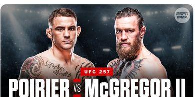 UFC 257 - Dustin Poirier Ungkap Kekuatan Supernya Hadapi Conor McGregor