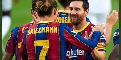 Bukan karena Lionel Messi, Ini Penyebab Antoine Griezmann Jadi Cadangan