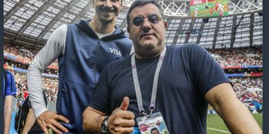 Mino Raiola Yakin Zlatan Ibrahimovic Akan Bermain Hingga Umur 50 Tahun