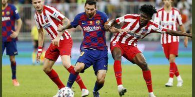 Hasil Liga Spanyol - Real Madrid Melempem, Barcelona Keok