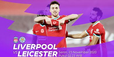 Link Streaming Liverpool vs Leicester City, Perebutan Posisi Tiga Besar