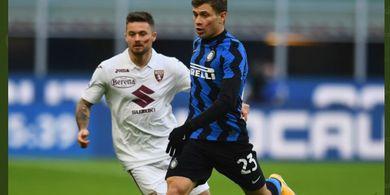 Hasil Babak I - Inter Milan Tanpa Satu Pun Tembakan ke Gawang, Torino Unggul 1-0