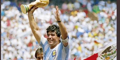 Diego Maradona Meninggal Dunia, Momen Ikonis Gol Tangan Tuhan dan Gol Terbaik Piala Dunia