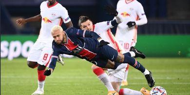7 Kali Dijegal, Neymar Bikin Rekor di Liga Champions 2020-2021