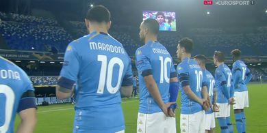Hasil Liga Europa - Napoli yang Sedang Berduka karena Kepergian Diego Maradona Libas Calon Klub Brylian Aldama asal Kroasia