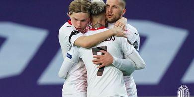 Hasil Liga Europa - Gagal Balas Dendam dan Butuh Menang 2 Kali, Posisi AC Milan Belum Aman