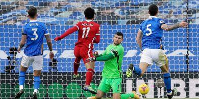 Hasil Babak I - VAR Anulir Gol Mo Salah, Liverpool Masih Tertahan 0-0