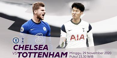 Link Streaming Chelsea Vs Tottenham Hotspur, Perebutan Posisi Puncak Klasemen Liga Inggris