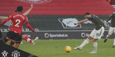 Hasil Liga Inggris - Tepis Bola ke Dalam Gawang, De Gea Diganti, Man United Tak Jadi Lumpuh dan Naik 6 Posisi