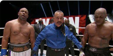Reaksi Mike Tyson Usai Lakoni Duel dengan Roy Jones Jr