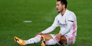 Real Madrid Konfirmasi Eden Hazard Bakal Menepi Selama Dua Pekan
