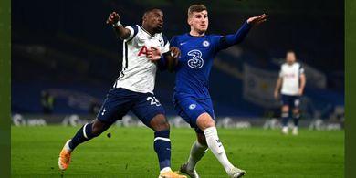 Babak I Chelsea Vs Spurs - Duet Kane-Son dan Werner-Abraham Masih Melempem, Skor Sama Kuat 0-0
