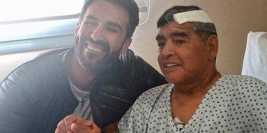 Percakapannya Bocor, Dokter Pribadi Hina Maradona Sebelum Meninggal