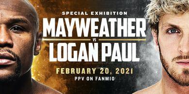 Giliran Sang Kakak, Bulan Juni Logan Paul Hadapi Floyd Mayweather