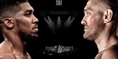 Update Anthony Joshua Vs Tyson Fury - Hari Pertarungan Bentrok dengan Olimpiade Tokyo