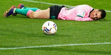 Digerogoti Cedera, Messi Terancam Kehilangan Rekor Keren di Final