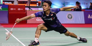 Hasil Thailand Open II 2021 - Anthony Lolos Babak Kedua Usai Libas Wakil India