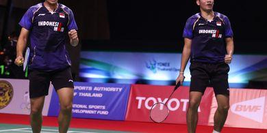 Hasil Thailand Open II 2021 - Leo/Daniel Singkirkan Pasangan Andalan Denmark
