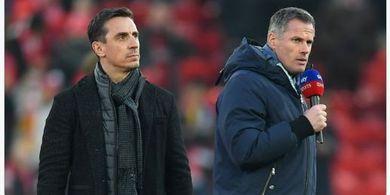 Liverpool Vs Manchester United - Prediksi Neville dan Carragher
