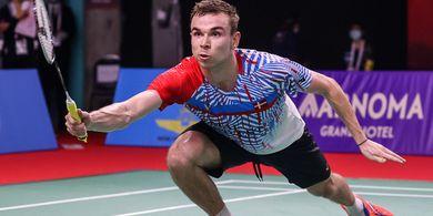 Thailand Open I 2021 - Rasmus Gemke Mengaku Kehilangan Akal Melawan Anthony Ginting