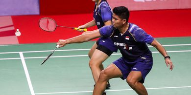 Hasil Thailand Open II 2021 - Kena 'Comeback' Wakil Prancis, Praveen/Melati Tersingkir