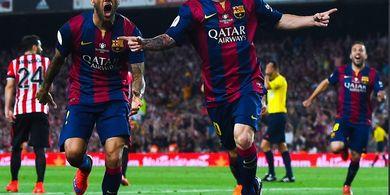 Final Piala Super Spanyol - Mengenang Gol Tak Wajar Messi vs Bilbao