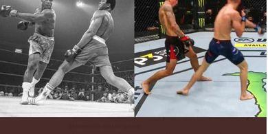 Max Holloway Curi Perhatian dengan Tiru Aksi Muhammad Ali