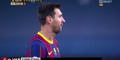 Buntut Kartu Merah Perdana, Lionel Messi Terancam Hukuman Dobel