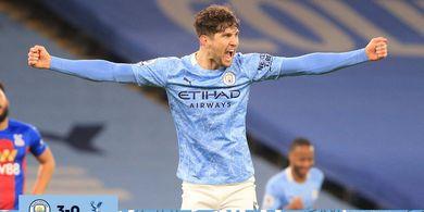 Hasil Liga Inggris - Tembok Tipuan untuk Gol Raheem Sterling, Man City Hajar Crystal Palace 4 Gol