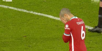 Sikap Thiago Alcantara di Depan Gawang Alisson Bikin Liverpool Tersingkir di Piala FA