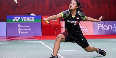 Thailand Open II 2021 - Cedera Punggung Gregoria Sudah Mendingan