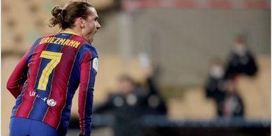 Gagal Juara, Griezmann Salahkan Pertahanan Buruk Barcelona