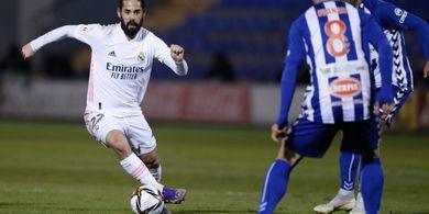 Hasil Copa del Rey - Real Madrid Disingkirkan Klub Abal-abal Berharga Satu Kiper Cadangan